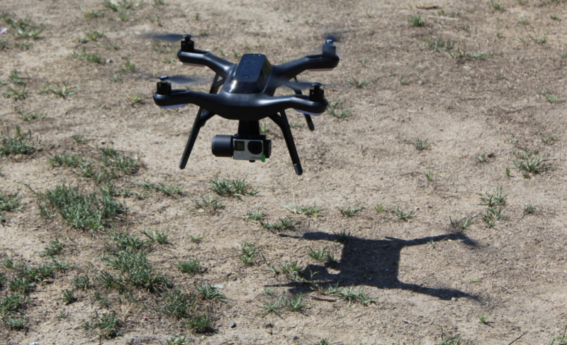 The city's drone cost around $500.