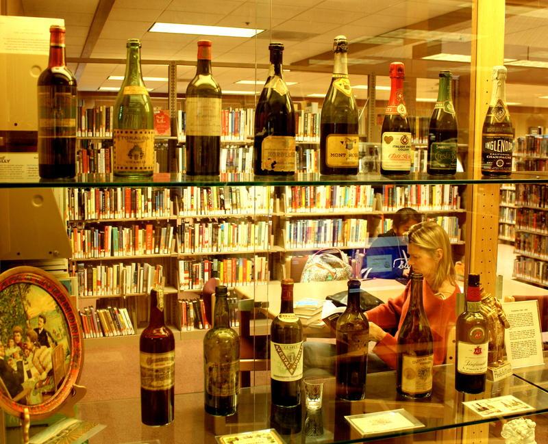 Sonoma County Wine Library in Healdsburg, California