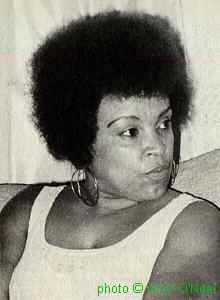 Blues musician Grace Brim