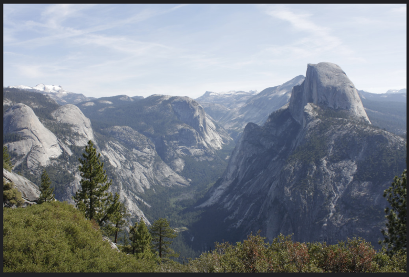 A view of Yosemite National Park.
