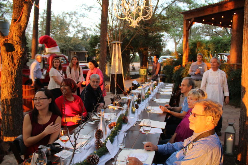 Fischer & Wieser Culinary Adventure dinner Fredericksburg, Texas