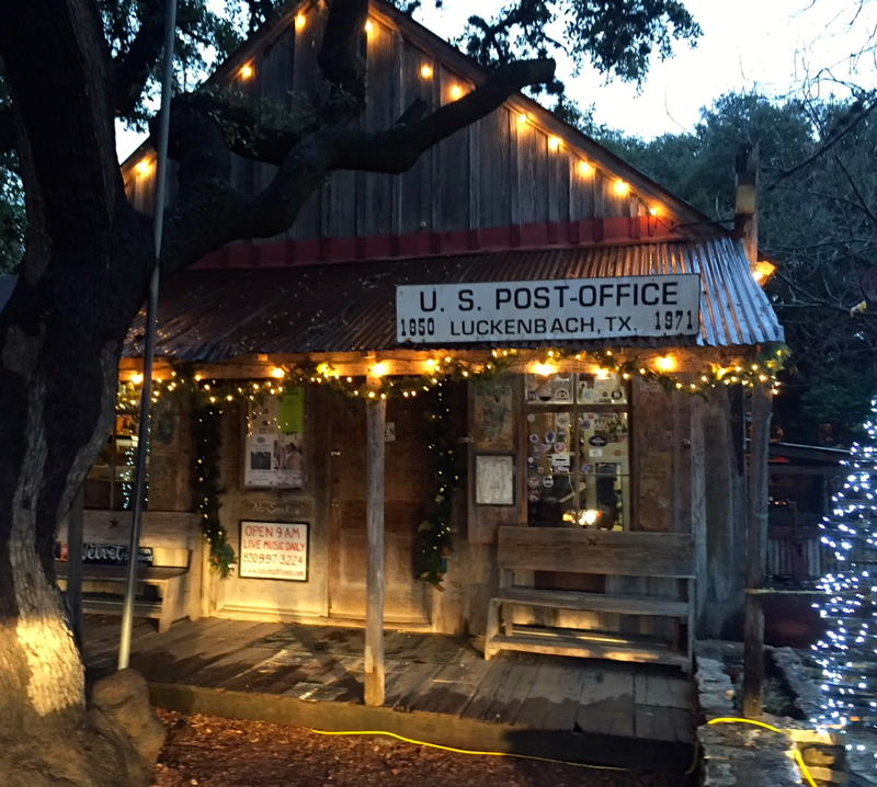 Luckenbach, Texas General Store and Saloon