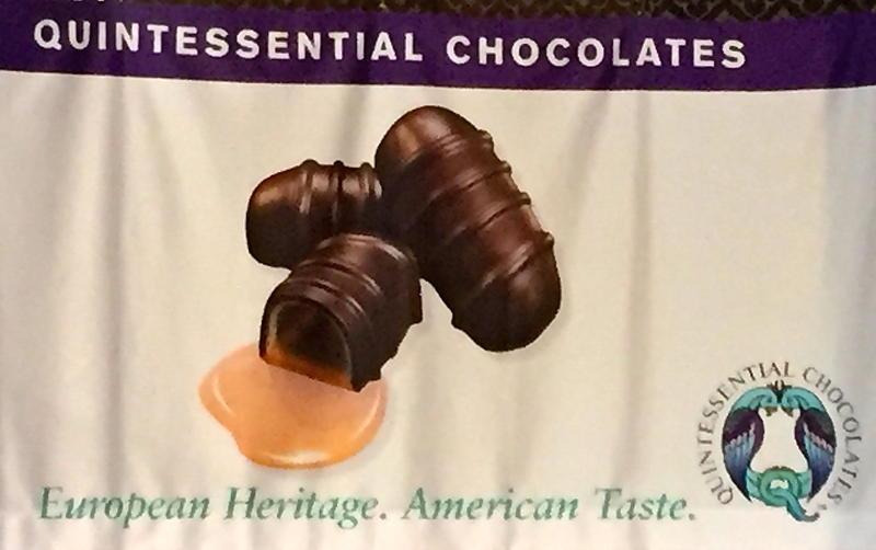 Quintessential Chocolates logo banner