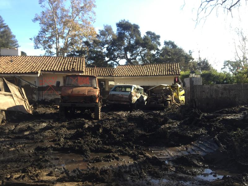 Hundreds of Montecito homes, like the one pictured here, were damaged or destroyed on Jan. 9