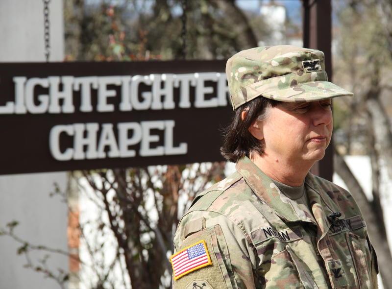 Colonel Kerry Norman, Commander U.S. Army Garrison Fort Hunter Liggett, California.