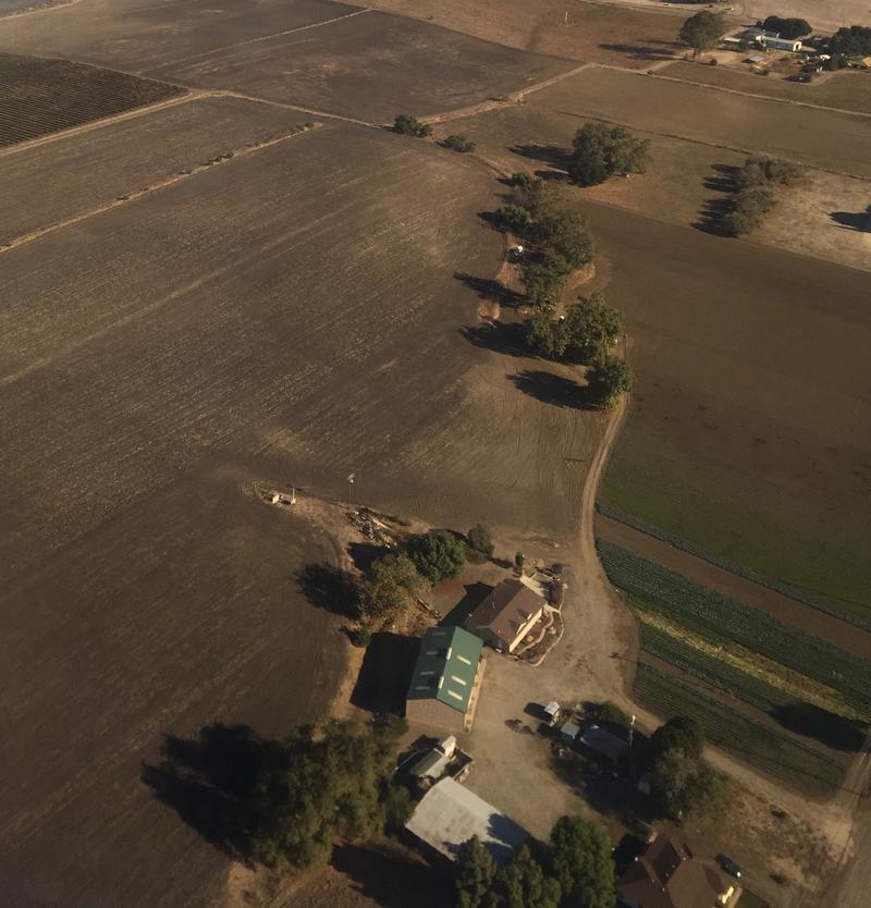 Farmland in the Edna Valley