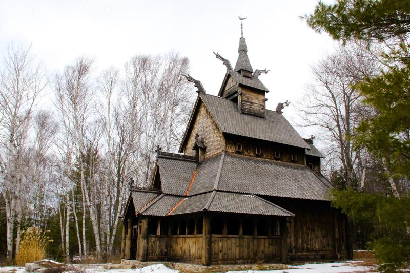 Norwegian church on Washington Island, Wisconsin