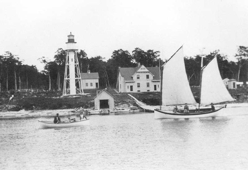 Plum Island off Washington Island, Door County Wisconsin Circa-1890s