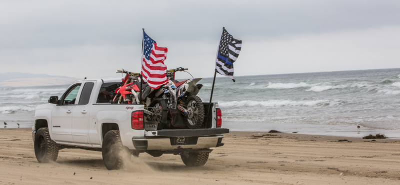 Oceano Dunes is the only off-highway vehicle recreation area in the state to allow driving on the beach.