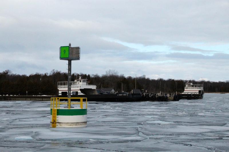 Washington Island Ferry terminal on the Door Peninsula