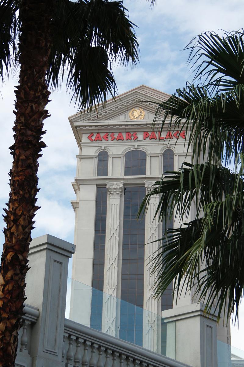 Ceasars Palace Las Vegas facade