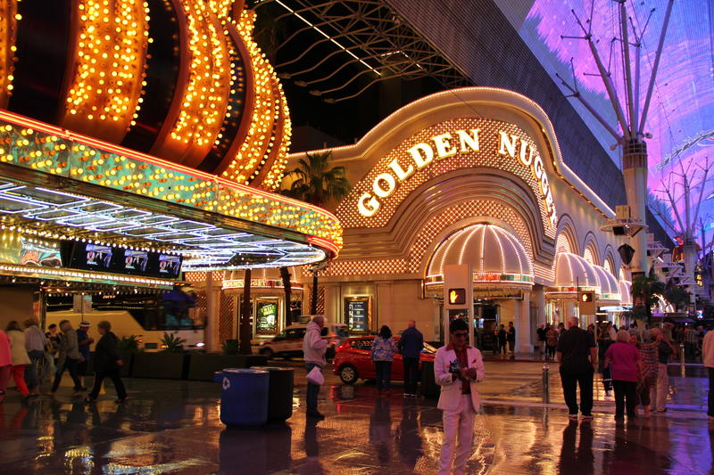 The Fremont Experience encompasses some of the old classic Las Vegas casinos