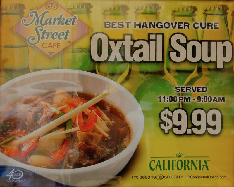 Las Vegas is the largest purchaser of oxtail meat in America to satify the Hawaiian's love of oxtail soup