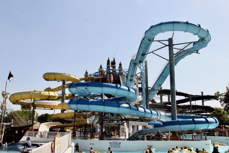 There's a water ride for every sensibility at Schlitterbahn