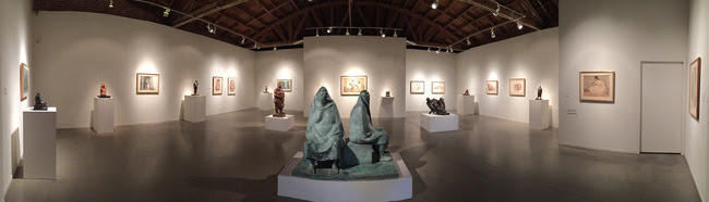 Francisco Zuniga Sculptures at the Jack Rutberg Gallery in Los Angeles