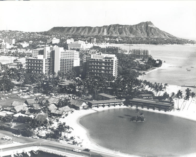 Hilton Hawaiian Village circa-1957