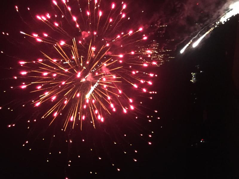 Every friday night the sky above the Hilton Hawaiian Village is ablaze with stunning fireworks