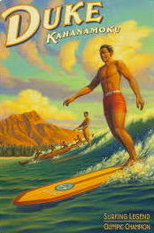 Duke Kahanamoko--surfing legend had long connection with the Hilton Hawaiian Village