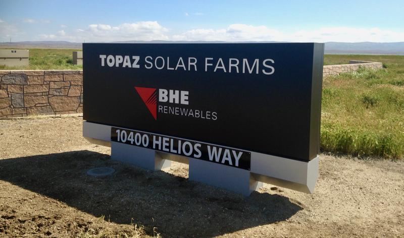 The Topaz Solar Farm on the Carrizo Plain is one of the world's largest solar farms.