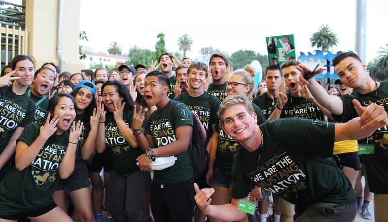 Cal Poly's Open House is a three-day event that showcases the campus to new students.