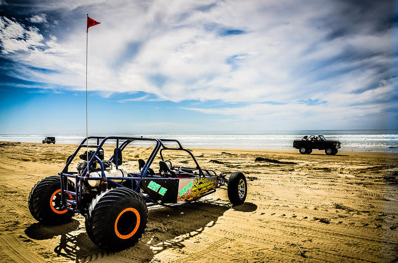 Off-road vehicles at Oceano Dunes State Park.