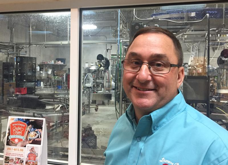 Mark Lamers at his family owned dairy in Appleton, Wisconsin--the last family owned dairy in the state