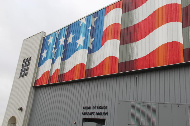 Medal of Honor Aircraft Pavilion at USS Alabama Memorial Park in Mobile, Alabama