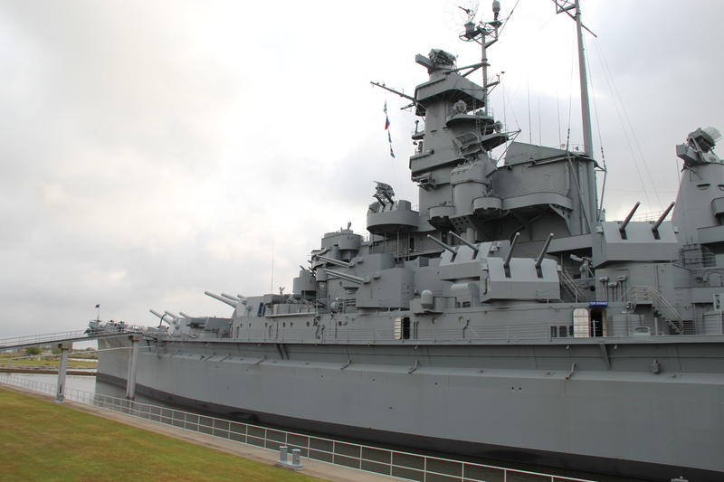 Commissioned in late 1942 the USS Alabama Battleship was obsolete by the end of WWII
