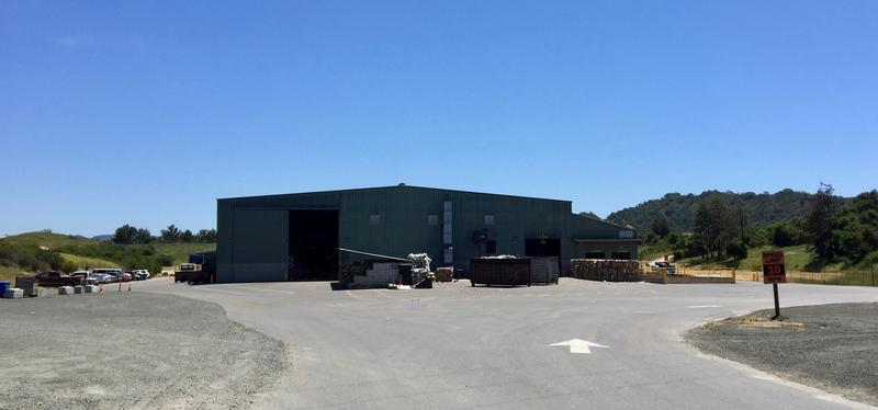 The Cold Canyon Processing Facility, located southeast of San Luis Obispo. The company bans photography inside.