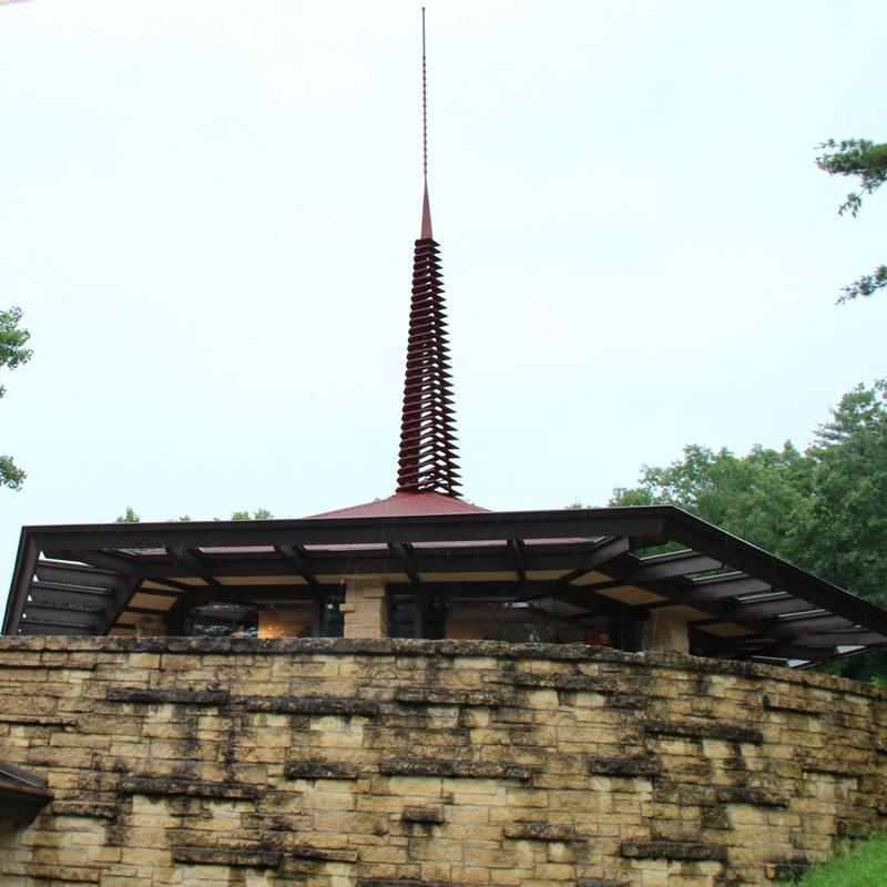 Frank Lloyd Wright's Taliesin home and architecture studios remain as a Wisconsin icon