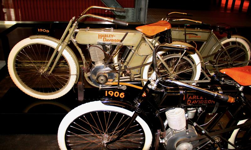 Harley Davidson headquarters museum in Milwaukee, Wisconsin is a not to be missed experience
