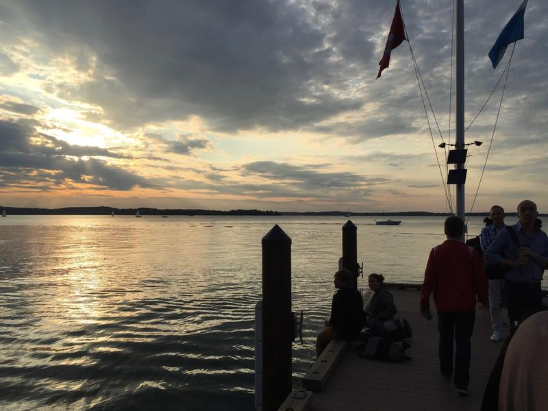 Sunset is a daily celebration in Madison, Wisconsin
