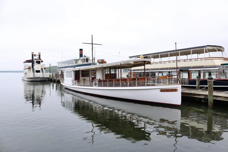 Classic Lake Geneva, Wisconsin cruise boat