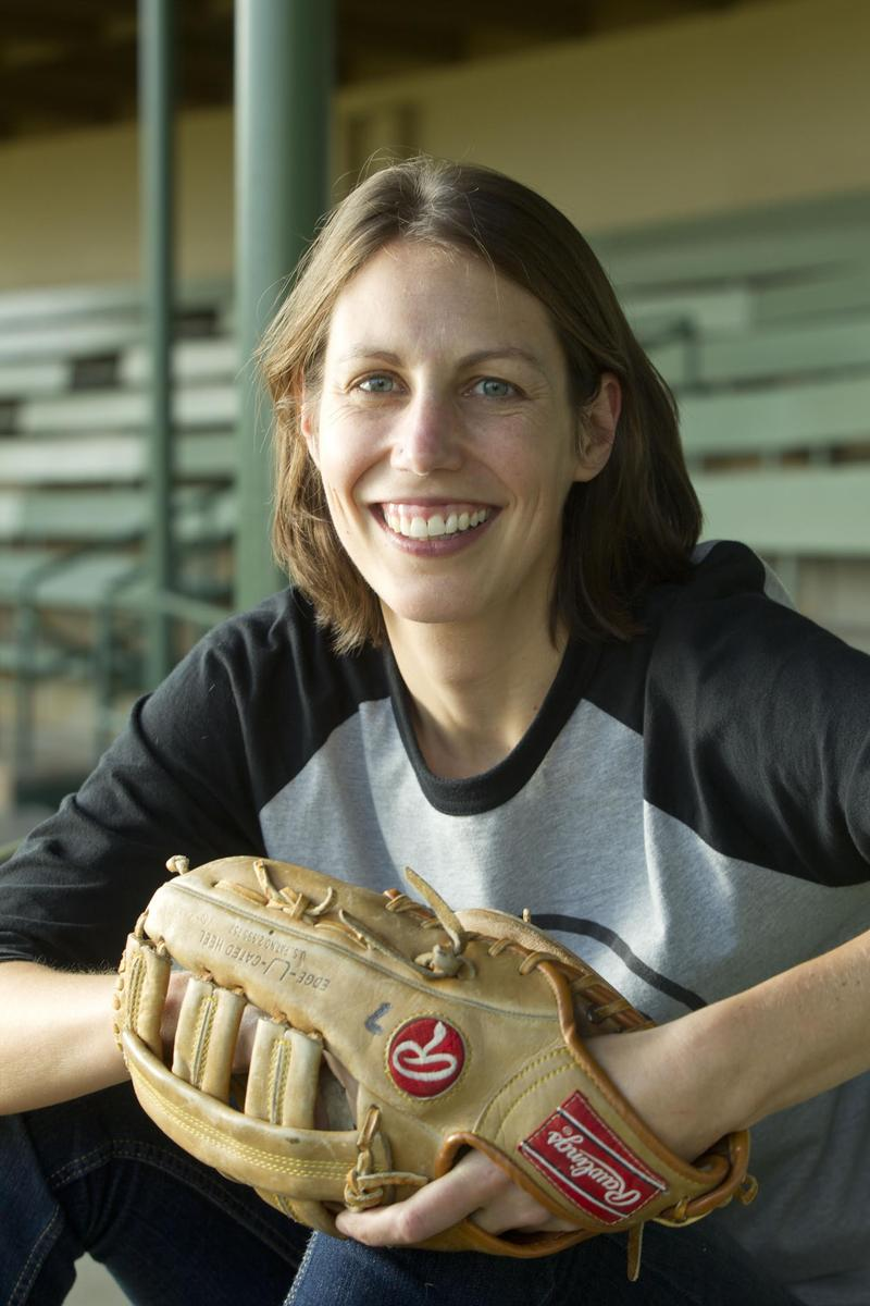 """Bluegrass Baseball-A Year in the Minor League Life"" author Katya Cengel ready to play ball."