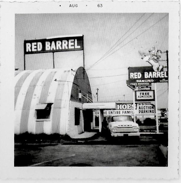 Red Barrel in Los Angeles August 1963
