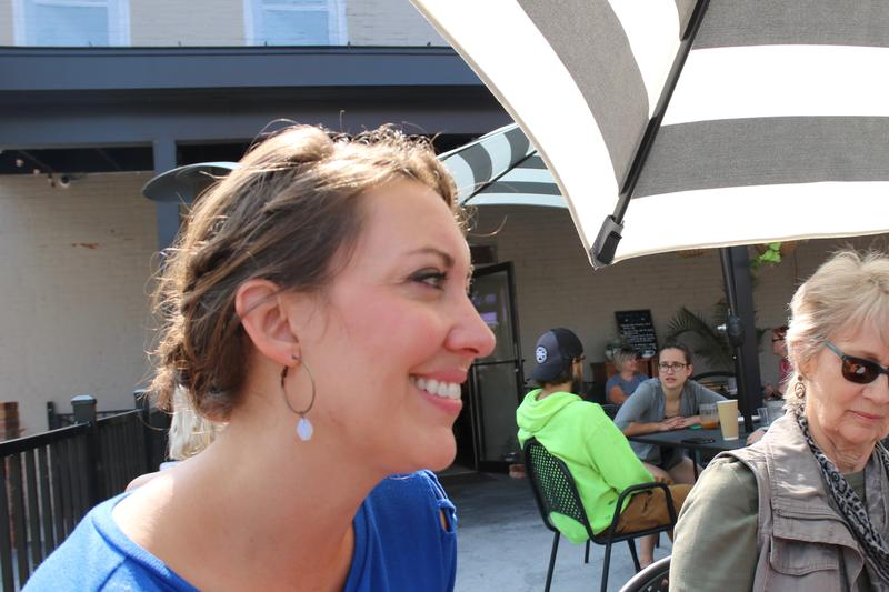 Maria Norberg, owner of Grounded Patio Cafe in La Crosse, Wisconsin.
