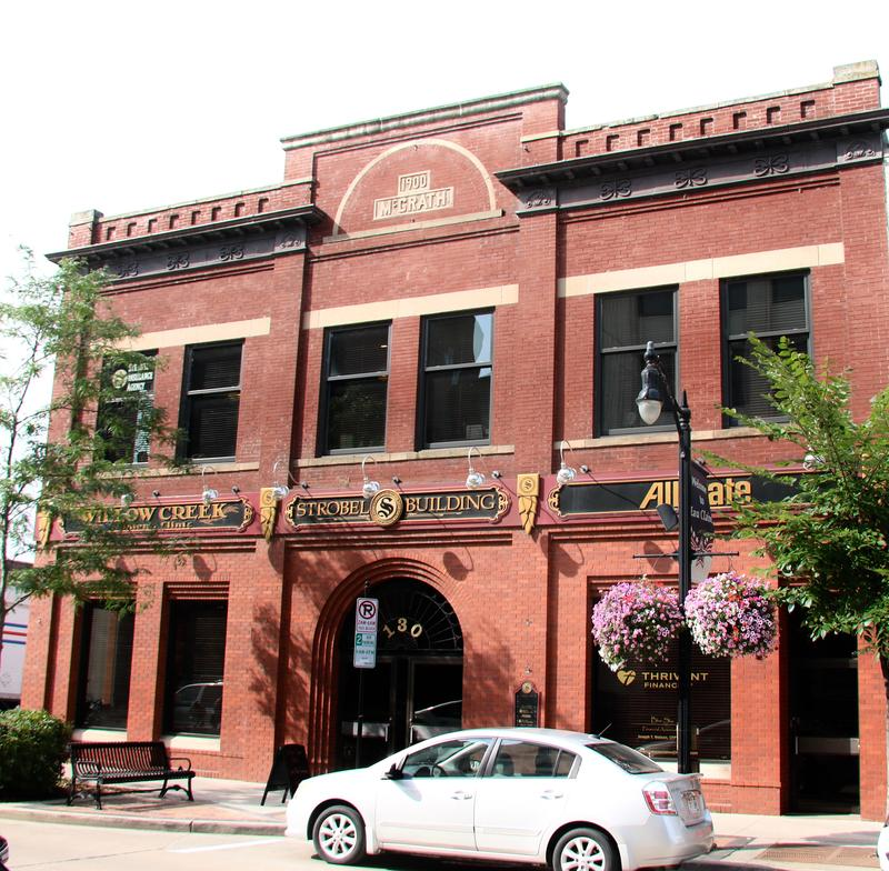 Classic architecture is cherished in Eau Claire, Wisconsin.