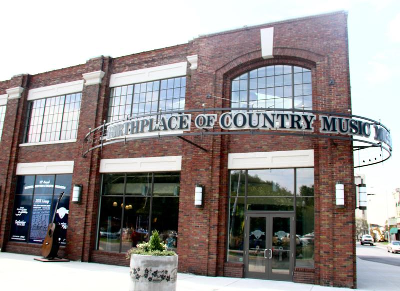 Bristol, Tennessee is the home to the Birthplace of Country Music Museum.