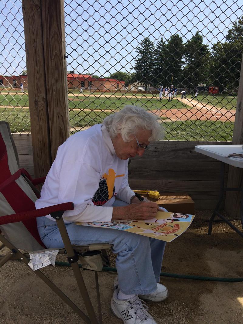 Shirley Burkovich played baseball for the World War II-era women's professional league.