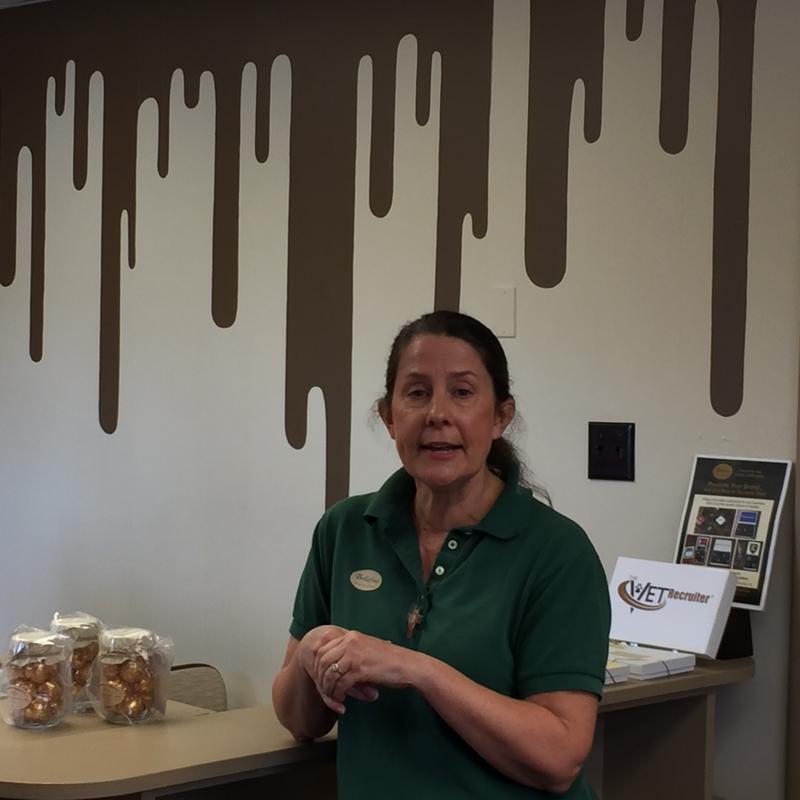 Brenda Barnicki at Bellifina Chocolates.