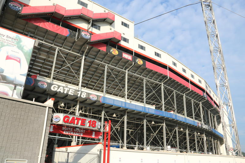 The Bristol Motor Speedway.