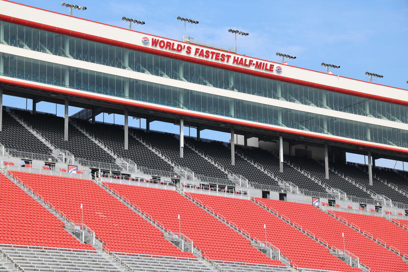 Known fondly as the Coliseum, the Bristol Motor Speedway seats 160,000 fans.
