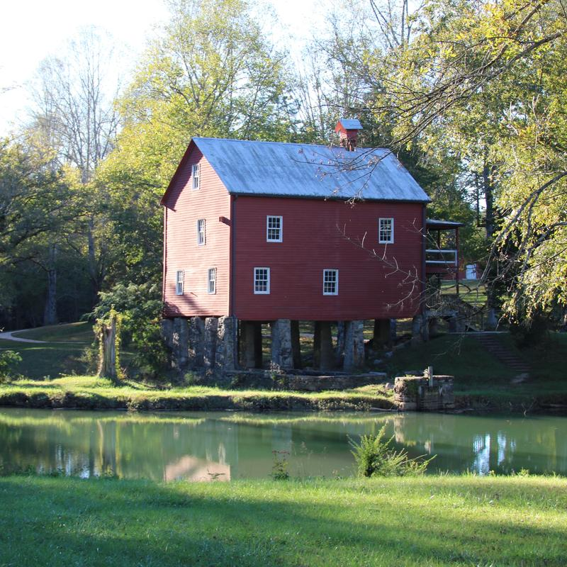 Sergeant Alvin York's old grist mill in Pall Mall, Tennessee.