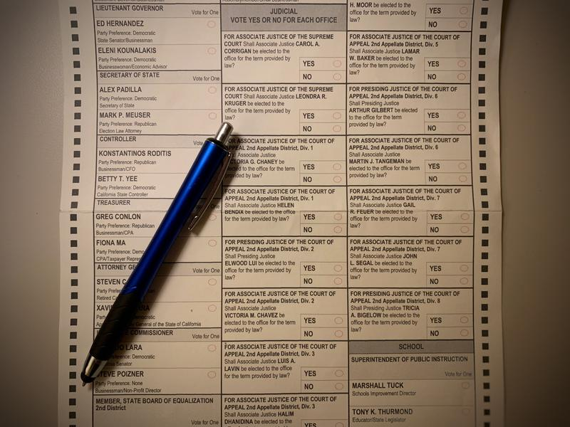 19 justices are on the San Luis Obispo County 2018 general election ballot.