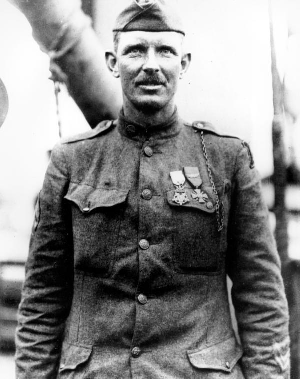 WW1 hero Sergeant Alvin York