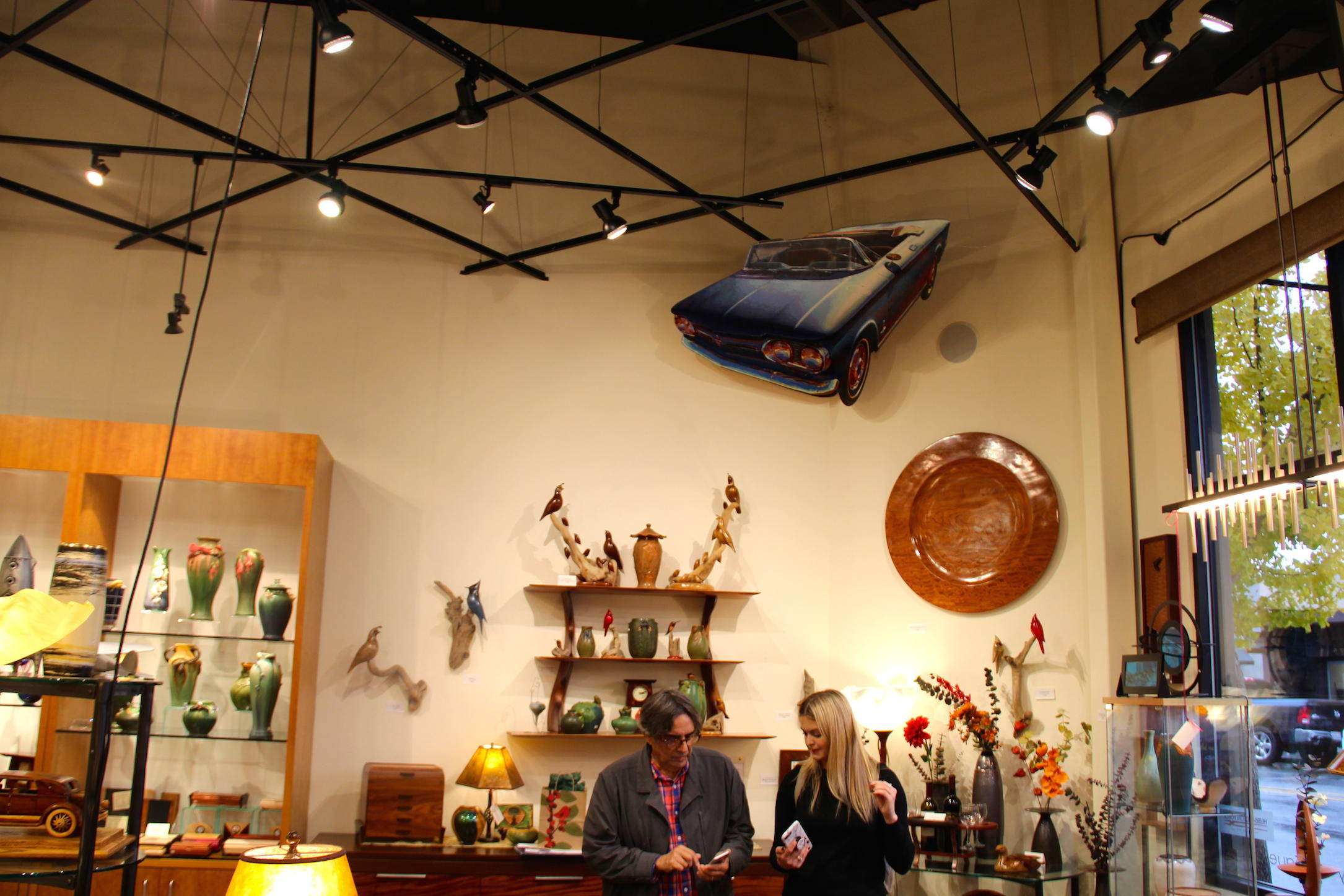 Mesmerizing 3-D paintings and California artisan furniture at ... on gallery f, gallery j, gallery l, gallery c, gallery a, gallery g, gallery n, gallery h, gallery p, gallery b, gallery i, gallery s, gallery v, gallery q, gallery e, gallery m, gallery k,