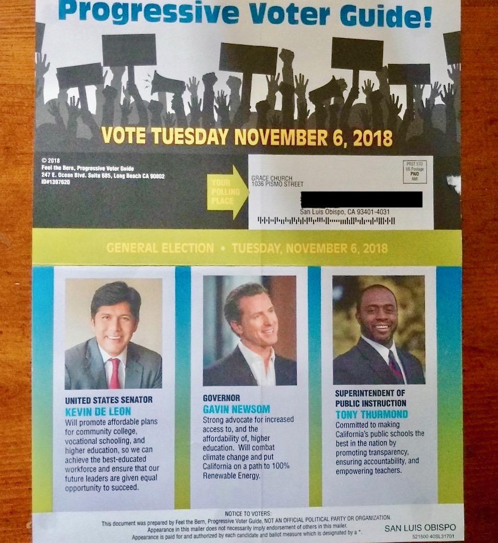Progressive Voter's Guide