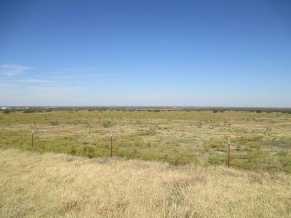 Landscape near Archer City, Texas.