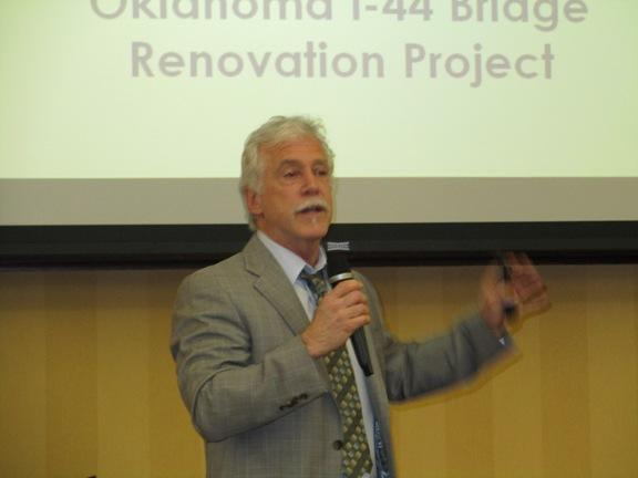 Architect Steven Weitzman discusses his designs for the Lawton Gateway Project.