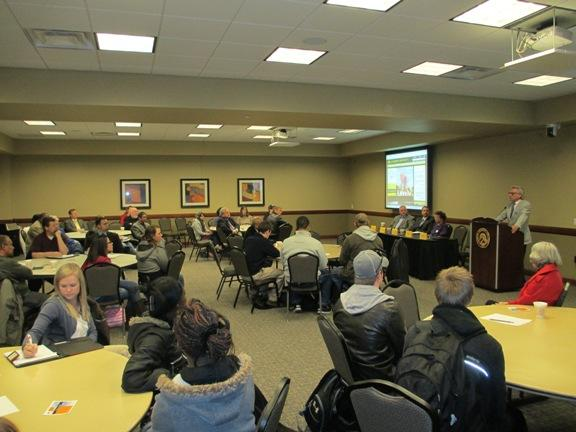 A business forum held at Cameron University discussed civic beautification in Lawton and Duncan.